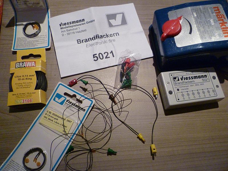 Viessmann 5021 Brandflackern - Electronic fire