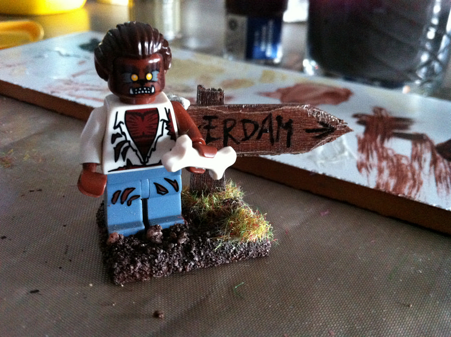 Mijn Lego Weerwolf van Wakkerdam