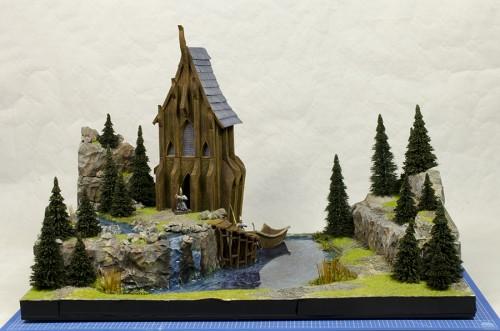 Elvish Sanctuary bijna klaar