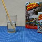 Helder Magic Water mengsel na 10 minuten roeren