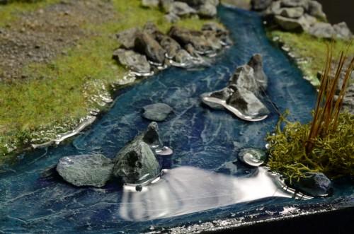 Mooi heldere hars met Magic Water