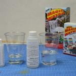 Magic Water mengsel afmeten