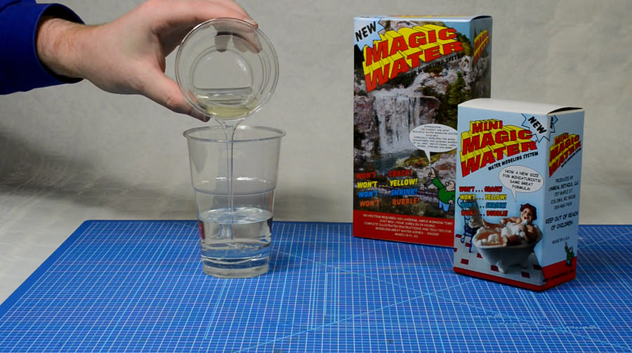 Magic Water delen samenvoegen