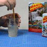 Magic Water goed roeren