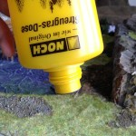 Static grass applicator