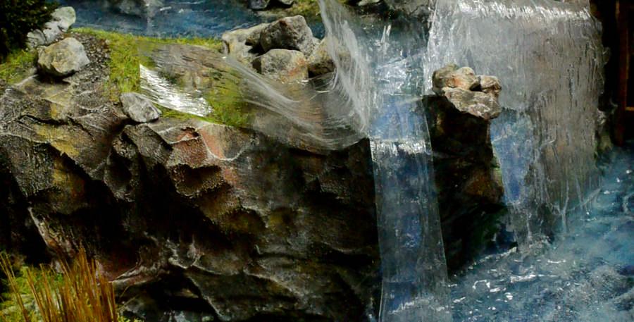 De linker waterval past
