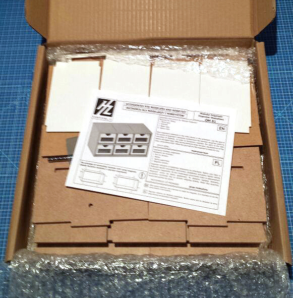 Hobbyzone Modular Workshop System 6drawers OM01 what's in the box