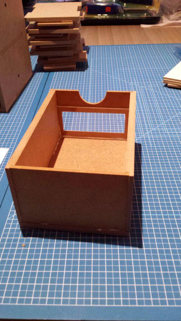 Hobbyzone Modular Workshop System 6drawers OM01 het verlijmen van de lades