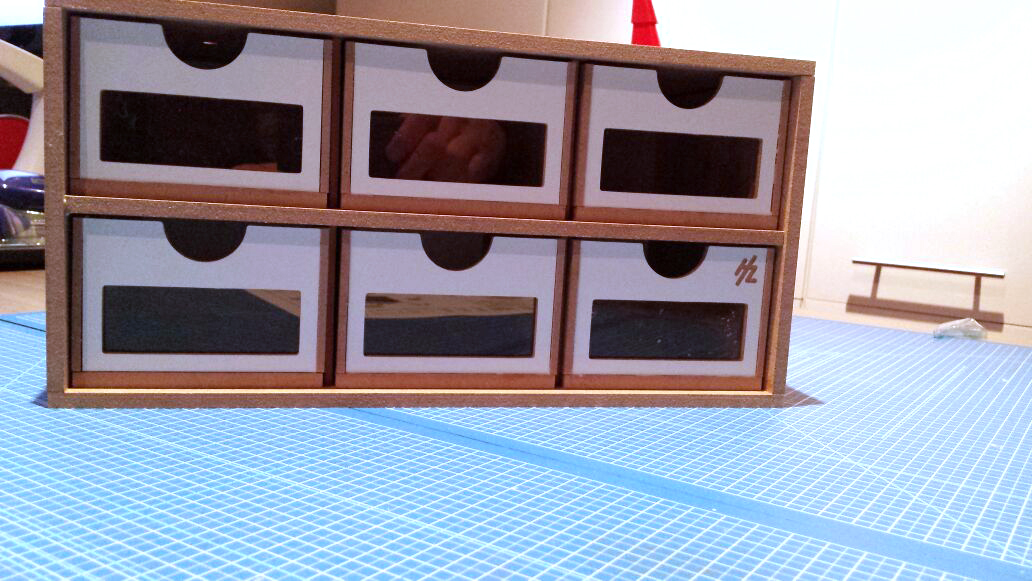 Hobbyzone Modular Workshop System 6drawers OM01 klaar!