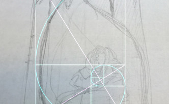 Gulden Snede in de compositie toegepast