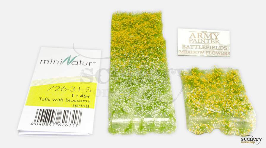 MiniNatur 726-31 vs The Army Painter Meadow Flowers BF4134 pack