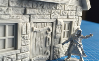 Mini Monsters Merchants House Frostgrave Illusionist 28mm