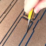 Hobbyzone Airbrush Station onderdelen lossnijden