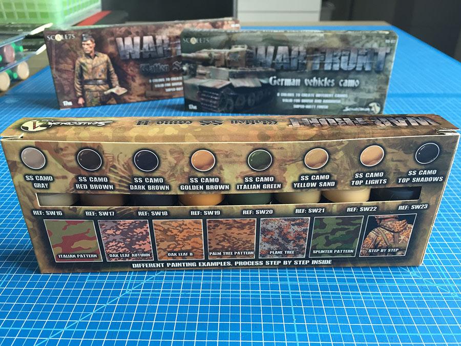 Scale 75 War Front achterzijde verpakking