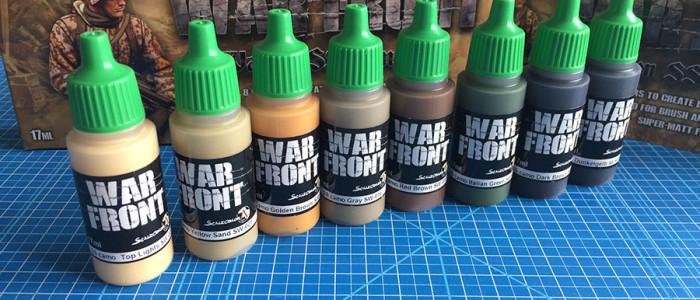 Scale 75 War Front inhoud verpakking